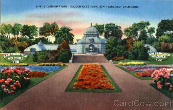 The Conservatory, Golden Gate Park San Francisco California