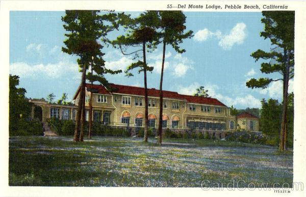 Del Monte Lodge Pebble Beach Del Monte Lodge Pebble Beach