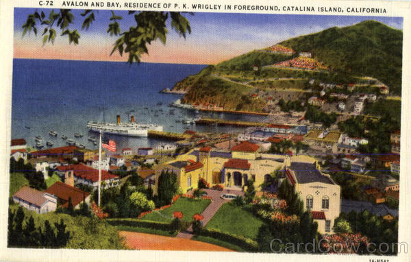 Avalon And Bay Catalina Island California