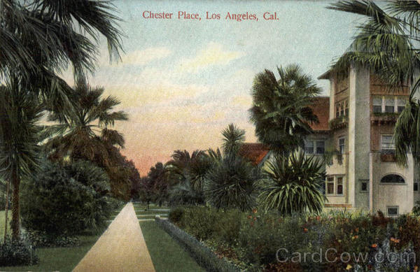 Chester Place Los Angeles California