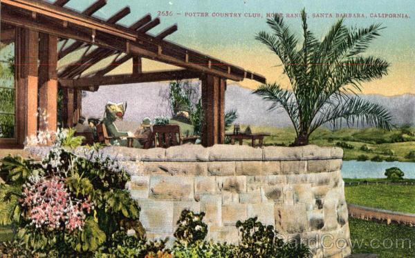 Potter Country Club Hope Ranch Santa Barbara Ca