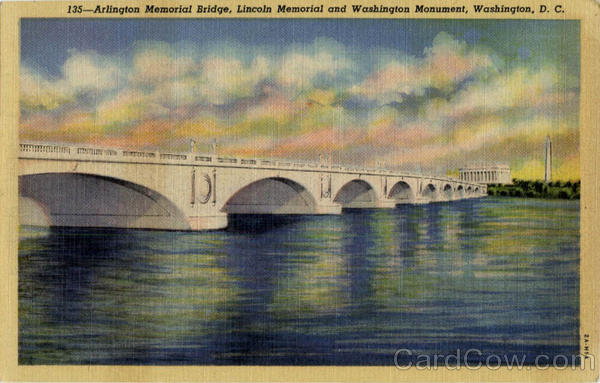 Arlington Memorial Bridge Washington District of Columbia