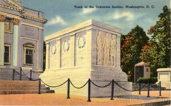 Tomb of the Unknown Soldier Washington District of Columbia