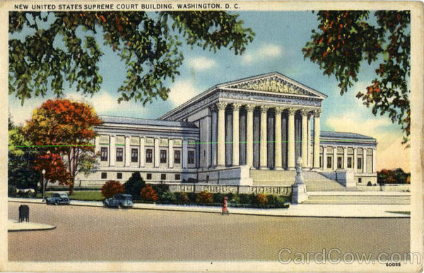New United States Supreme Court Building Washington District of Columbia