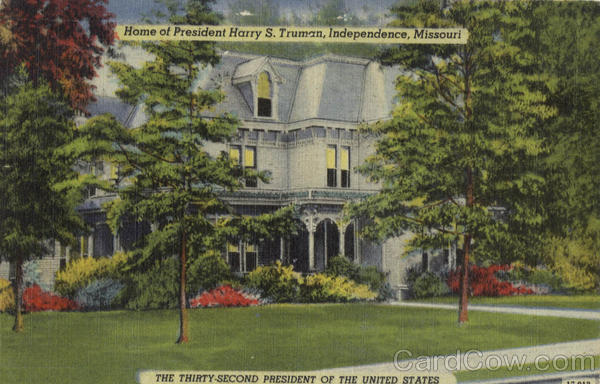 Home Of President Harrry S. Truman Independence Missouri