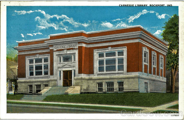 Carnegie Library Rockport Indiana