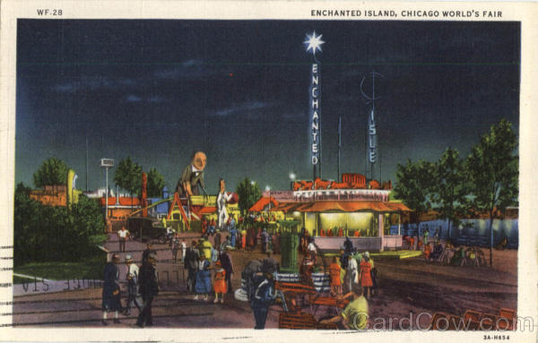 Enchanted Island 1933 Chicago World's Fair 1933 Chicago World Fair