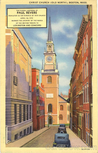 Old North Church Boston Massachusetts