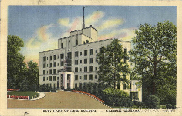 Holy Name Of Jesus Hospital Gadsden Alabama