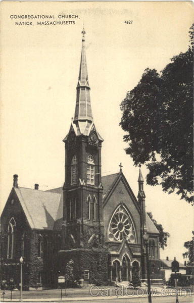 Congregational Church Natick Massachusetts
