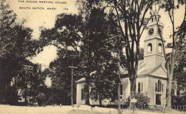 The Indian Meeting House South Natick Massachusetts