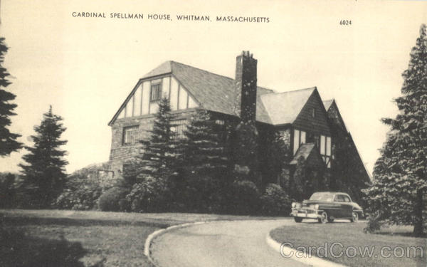 Cardinal Spellman House Whitman Massachusetts