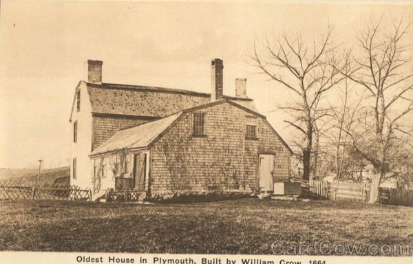 Oldest House In Plymouth Massachusetts