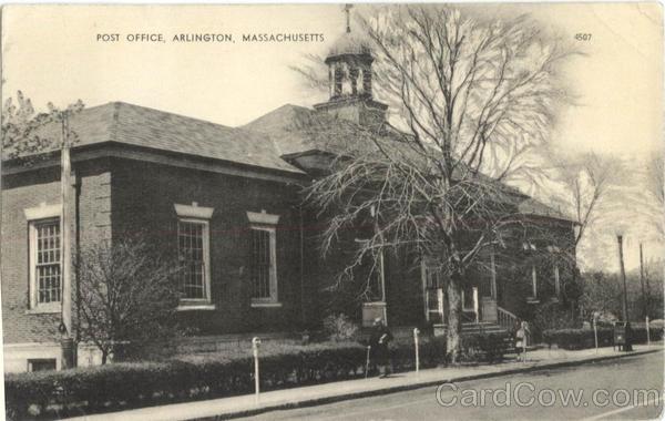 Post Office Arlington Massachusetts