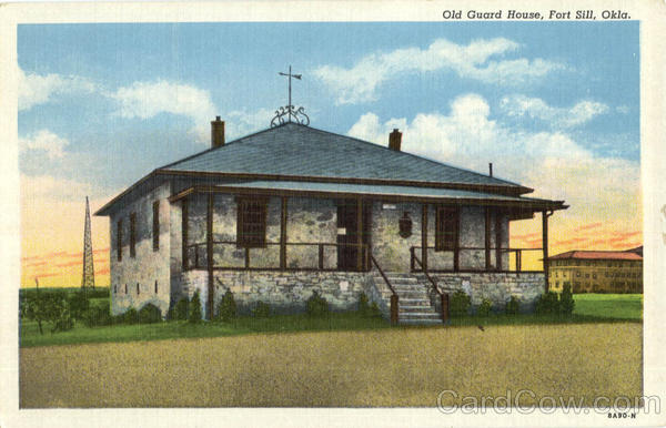 Old Guard House Fort Sill Oklahoma