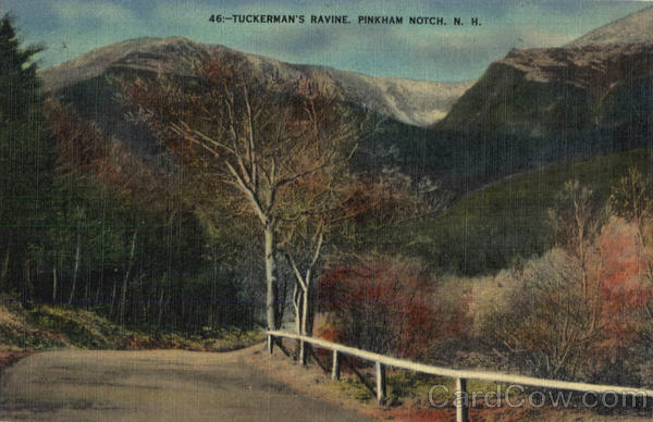 Tuckerman's Ravine Pinkham Notch New Hampshire