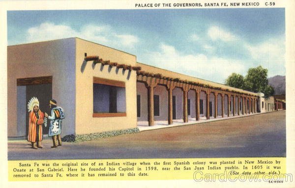 Place Of The Governors Santa Fe New Mexico