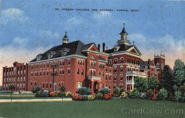 St. Joseph College And Academy Adrian Michigan