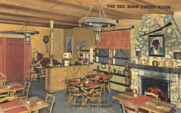 The Red Barn Dining Room Carlsbad New Mexico