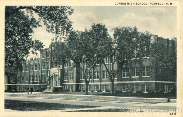 Jounior High School Roswell New Mexico