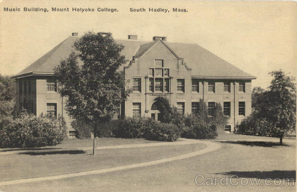 Music Building, Mount Holyoke College South Hadley Massachusetts
