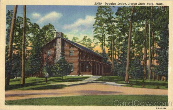 Douglas Lodge Itasca State Park Minnesota