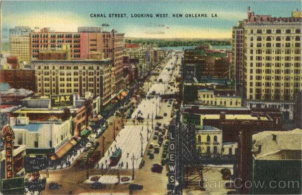 Canal Street New Orleans Louisiana