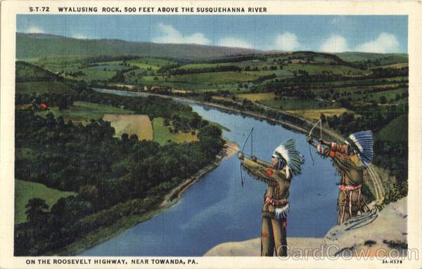 Wyalusing Rock - Towanda, Pennsylvania   Flickr - Photo
