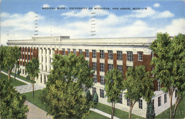 Medical Bldg, University Of Michigan Ann Arbor