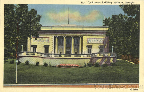 Cyclorama Building, Grant Park Atlanta Georgia