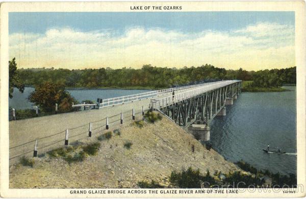 Grand Glaize Bridge Lake of the Ozarks Missouri