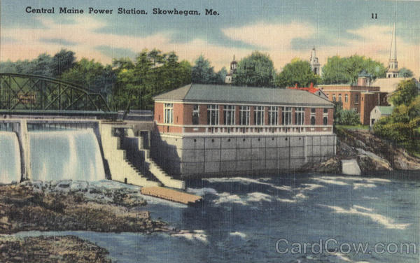 Central Maine Power Station Skowhegan