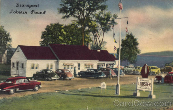 Searsport Lobster Pound, U. S. Route 1 Maine