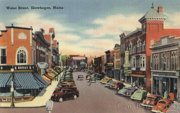 Water Street Skowhegan Maine