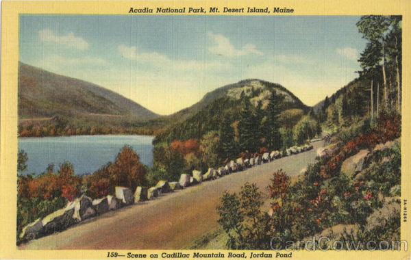 Acadia National Park Mt. Desert Island Maine