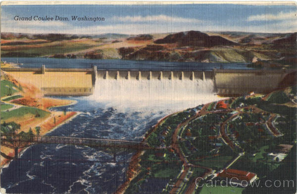 Grand Coulee Dam Washington