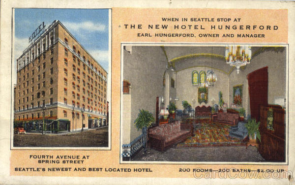 The New Hotel Hungerford Seattle Washington