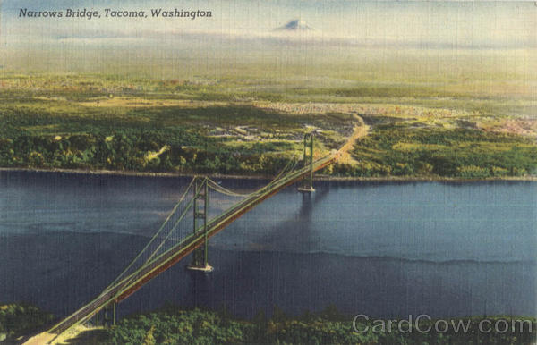 Narrows Bridge Tacoma Washington
