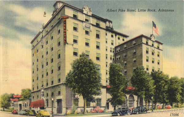 Albert Pike Hotel Little Rock Arkansas