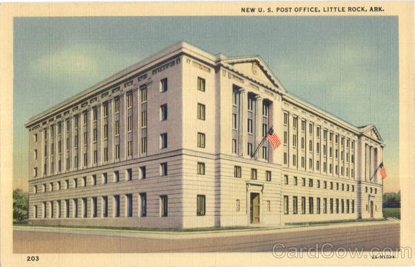 New U. S. Post Office Little Rock Arkansas