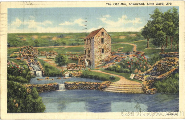 The Old Mill Little Rock Arkansas