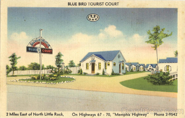 Blue Bird Tourist Court North Little Rock Arkansas