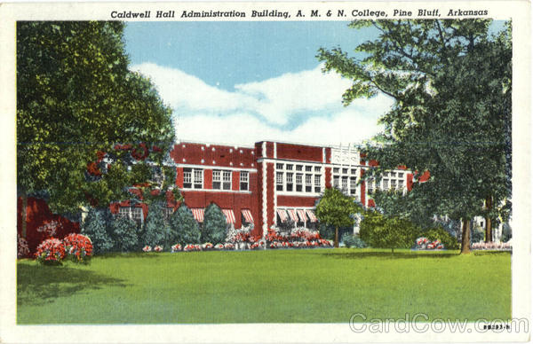 Caldwell Hall Administration Building Pine Bluff Arkansas