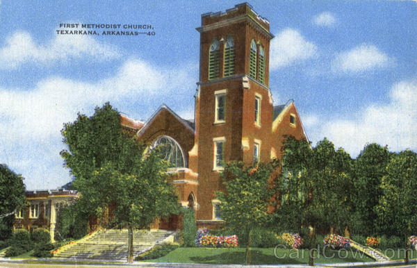 First Methodist Church Texarkana Arkansas