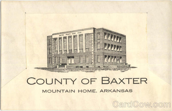 County Of Baxter Mountain Home Arkansas