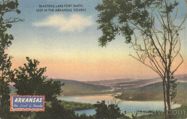 Beautiful Lake Fort Smith Scenic Arkansas