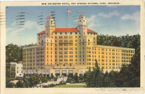 New Arlington Hotel Hot Springs National Park Arkansas