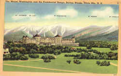 The Mount Washington And The Presidential Range, Bretton Woods