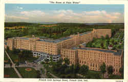 The Home Of Pluto Water, French Lick Springs Hotel