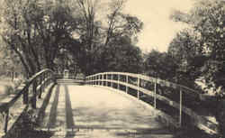 The Old North Bridge At Battle Ground